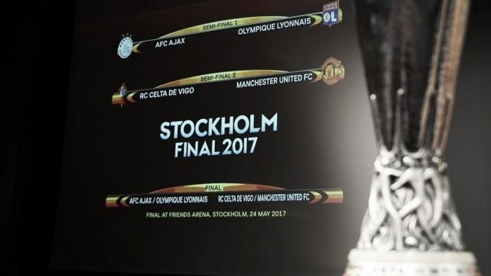 Semifinais da Uefa Europa League põem Manchester United e Celta em confronto inédito