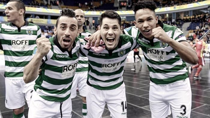 Sporting apurado para a final da UEFA Futsal Cup