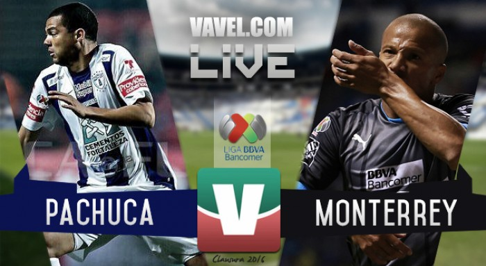 2595526b404c7 Resultado Pachuca - Rayados Monterrey en Liga MX 2016 (3-1) - VAVEL.com
