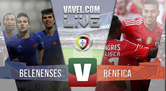 Resultado Belenenses x Benfica na Liga NOS 2016 (0-5)
