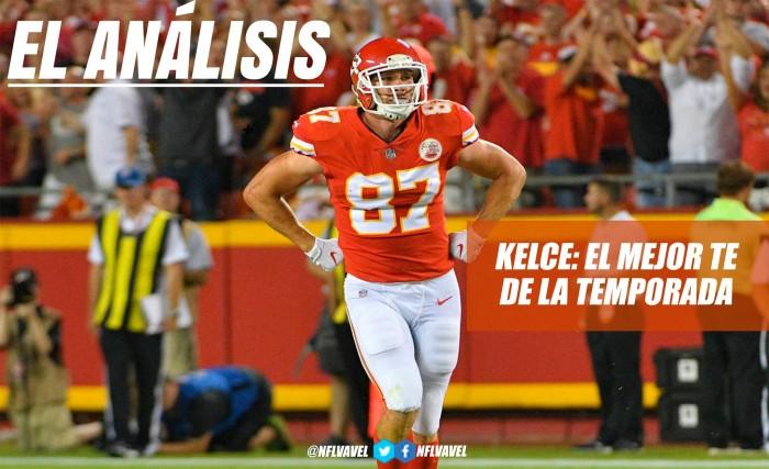 Travis Kelce: el mejor TE de la temporada