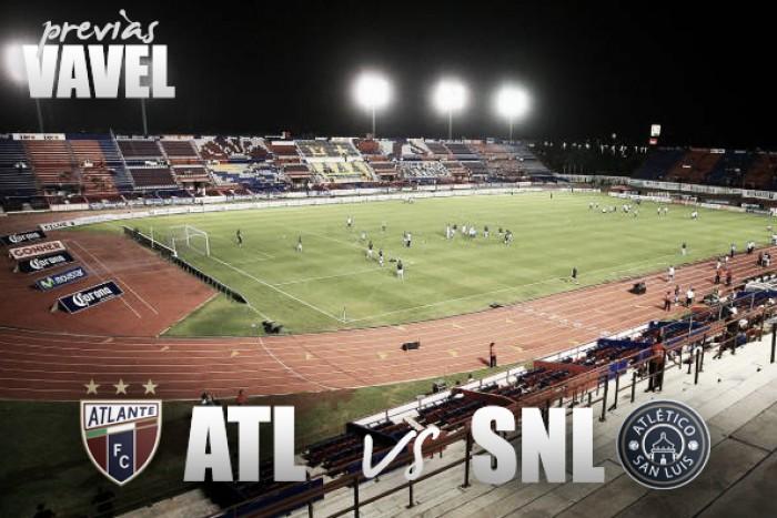 Previa Atlante - Atlético San Luis: a salir del bache