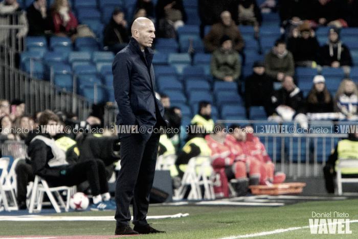 """Zidane, """"contento"""" con los menos habituales en un duelo """"complicado"""""""