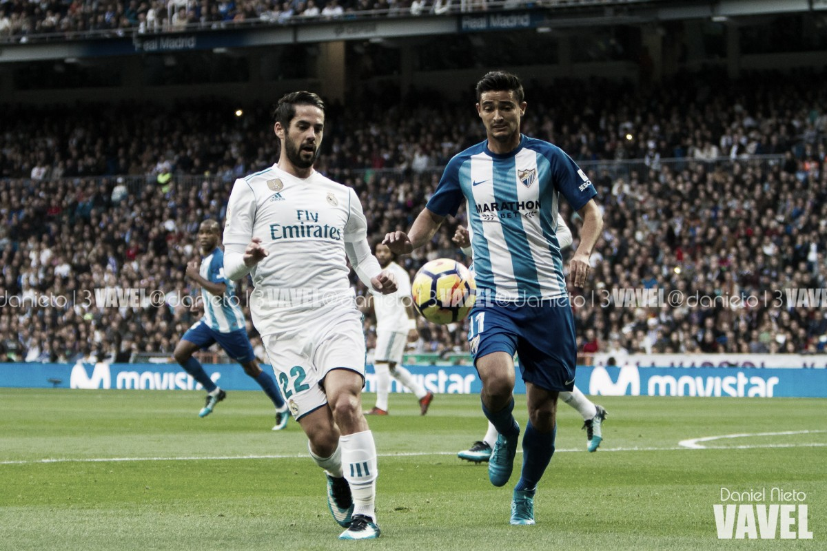 Casemiro marca, Real Madrid vence o Málaga e assume a 3ª posição