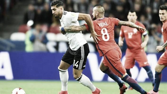 Chile y Alemania buscarán ganar su primer Copa Confederaciones