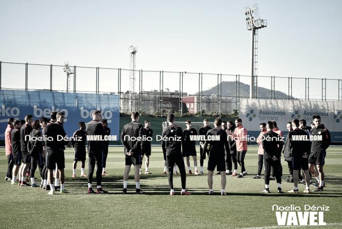 El FC Barcelona B ultima la visita del Valladolid