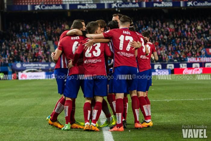 A tres puntos del Atlético campeón