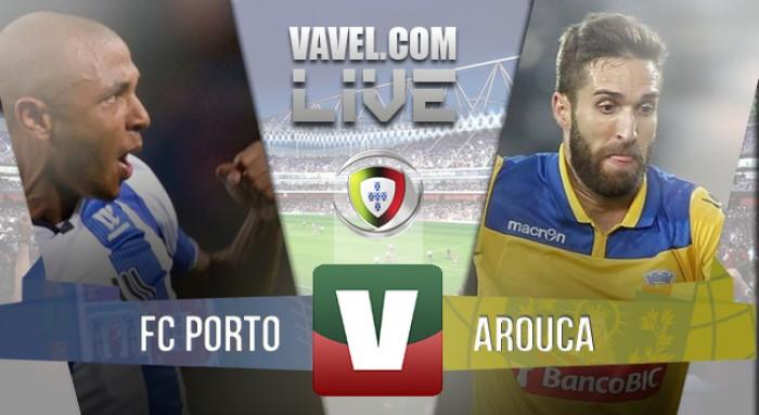 Resultado FC Porto 1-2 Arouca na Primeira Liga 2016
