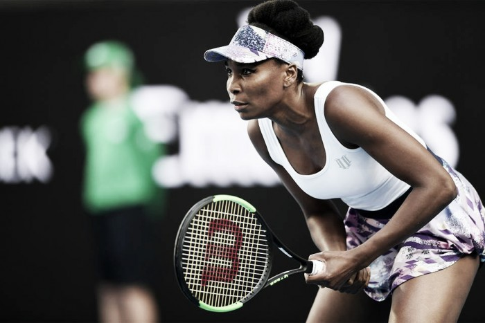 Australian Open 2018: Venus Williams busca seu primeiro título em Melbourne