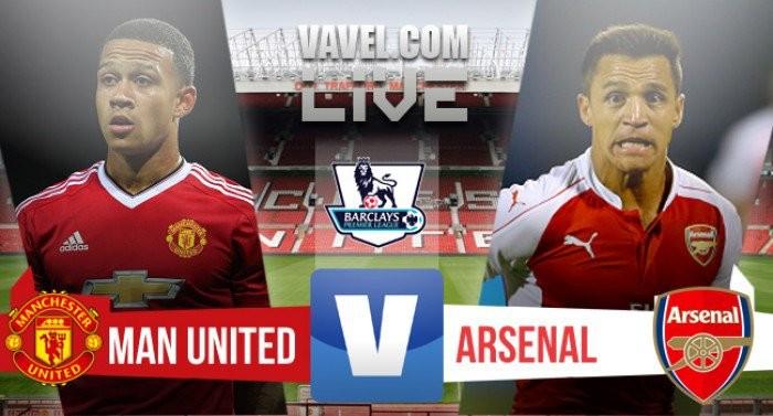 Resultado Manchester United x Arsenal Premier League 2016/17 (1-1)