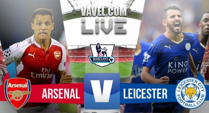 Arsenal vs Leicester in diretta, live Premier League 2015/2016 (0-0)