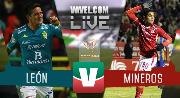 Resultado León - Mineros en Copa MX Clausura 2016 (2-2)
