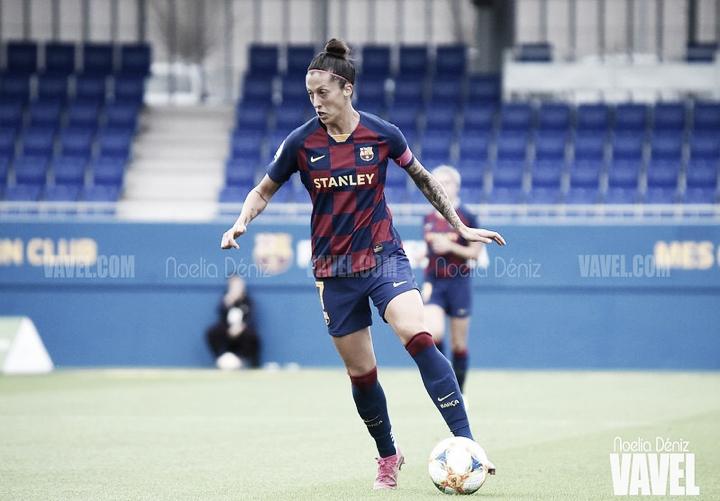 """Jenni Hermoso: """"Jugar en el Barcelona es un regalo"""""""