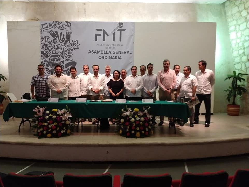 Reeligen a José Antonio Flores como Presidente de la Federación Mexicana de Tenis