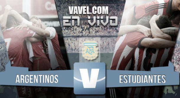 Resultado Argentinos Juniors - Estudiantes (2-2)