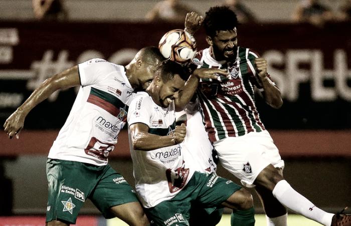 Fluminense joga mal, empata com a Portuguesa e se complica na Taça Guanabara