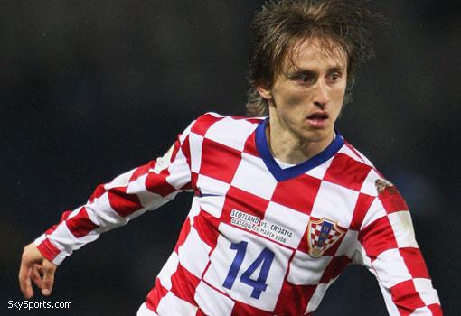 Luka Modric, nuevo jugador del Real Madrid