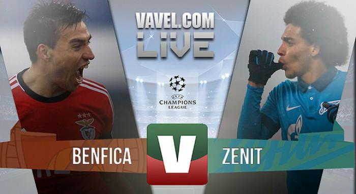 O Benfica entra com o pé direito na eliminatória