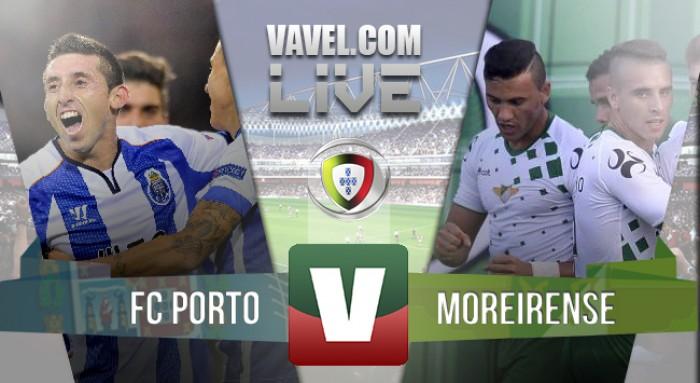 Resultado Porto x Moreirense na Liga NOS 2015/2016 (3-2)