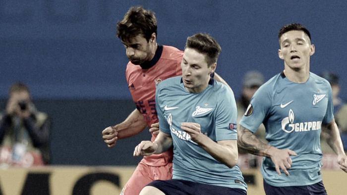 Resumen Real Sociedad 1-3 Zenit en Fase de Grupos Europa League