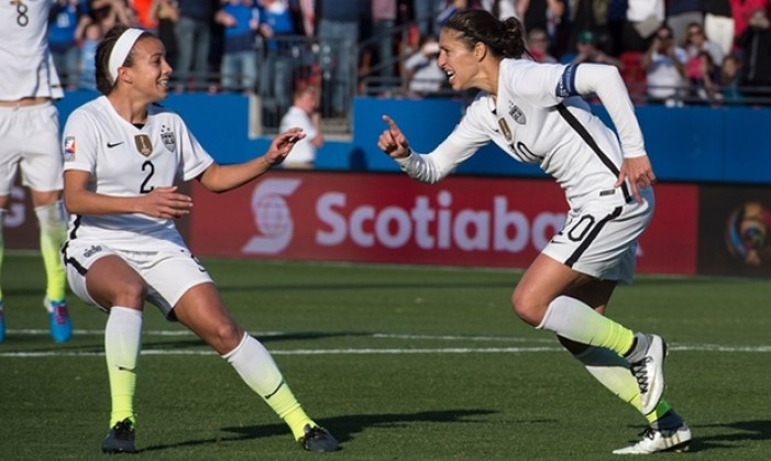 Carli Lloyd Puts Aside Controversy To Secure USWNT Victory Against Mexico, Place In Semifinals