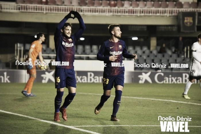 FC Barcelona B - Sporting de Gijón: puntuaciones del FC Barcelona B, jornada 18 de LaLiga