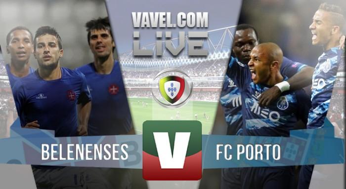 Resultado Belenenses x FC Porto na Liga NOS 2015/2016 (1-2)