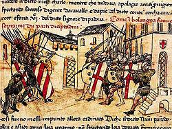 Güelfos y gibelinos y el expansionismo aragonés por el Mediterráneo