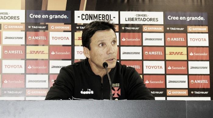 """Após vitória, Zé Ricardo parabeniza grupo: """"Nos preparamos para fazer um grande jogo"""""""