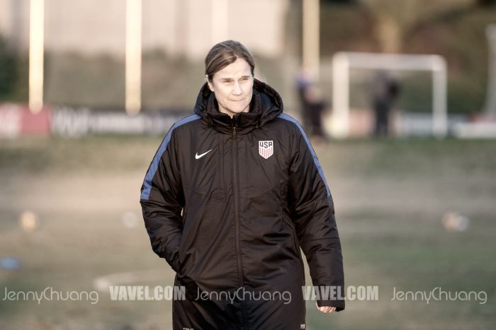 USWNT 22-Player Roster named by Jill Ellis