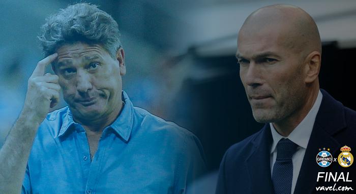 No Mundial, Renato Gaúcho pode entrar para seleto grupo e se igualar a Zinedine Zidane