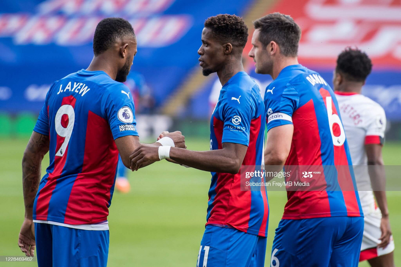 Crystal Palace 1-0 Southampton: Zaha goal the difference amongst VAR controversy