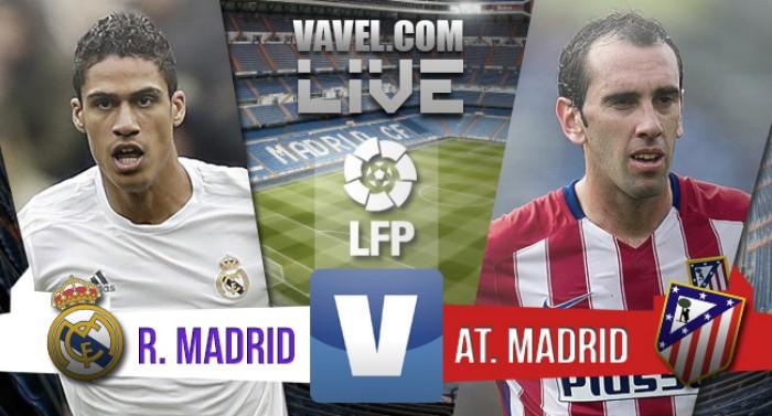 Risultato Real Madrid - Atletico Madrid di Liga BBVA 2015/16 (0-1): Griezmann fa sprofondare Perez