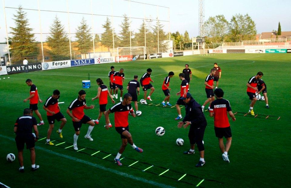 Tiago se reincorpora a los entrenamientos del Atlético de Madrid