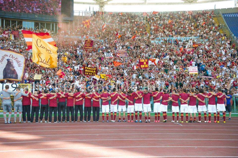 Roma vuelve a sonreír con su equipo