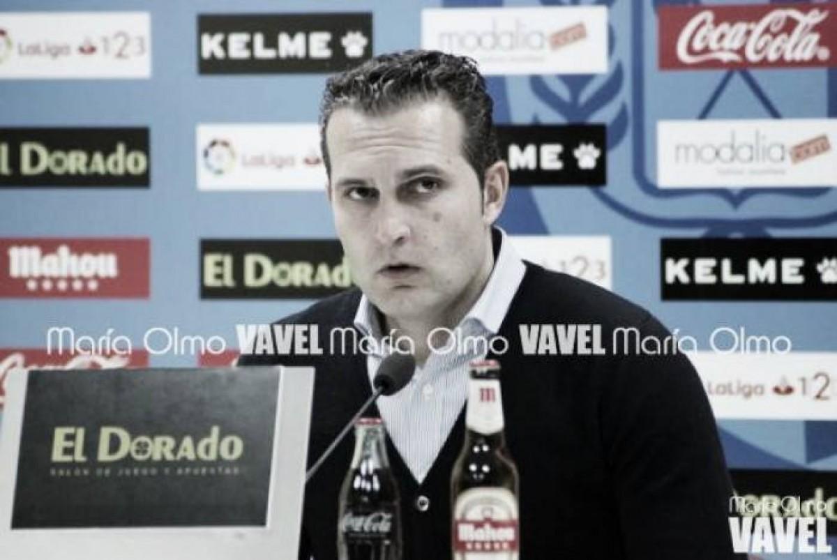 """Rubén Baraja: """"Tenemos nuestras opciones en el partido jugando en casa"""""""