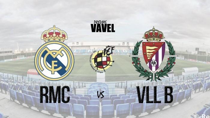Previa Real Madrid Castilla - Real Valladolid B: 3 puntos que valen oro