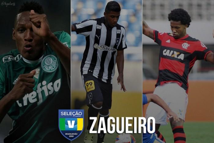 Seleção VAVEL: vote no melhor PRIMEIRO ZAGUEIRO do Brasileirão 2016!