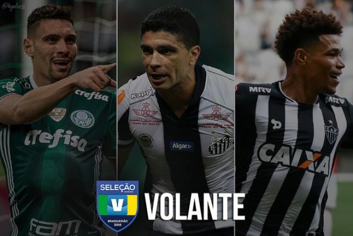 Seleção VAVEL: vote no melhor PRIMEIRO VOLANTE do Brasileirão 2016!