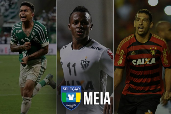 Seleção VAVEL: vote no melhor MEIA DIREITA do Brasileirão 2016!