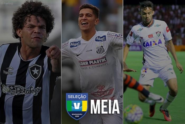 Seleção VAVEL: vote no melhor MEIA ESQUERDA do Brasileirão 2016!