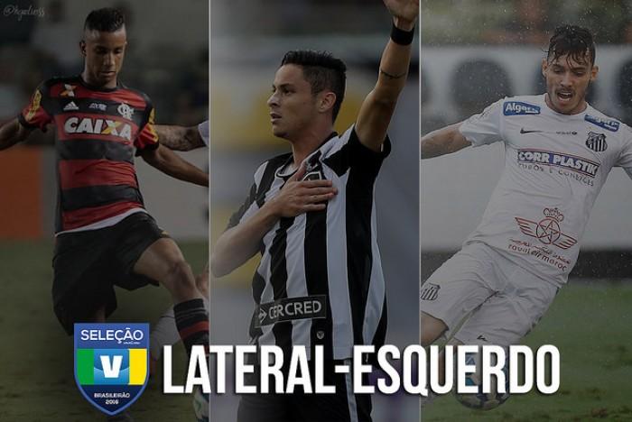 Seleção VAVEL: vote no melhor LATERAL-ESQUERDO do Brasileirão 2016!