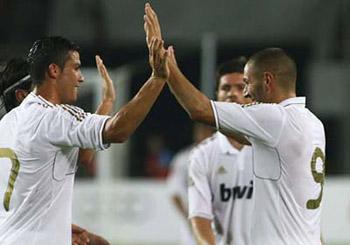El Real Madrid cierra la pretemporada con otra goleada