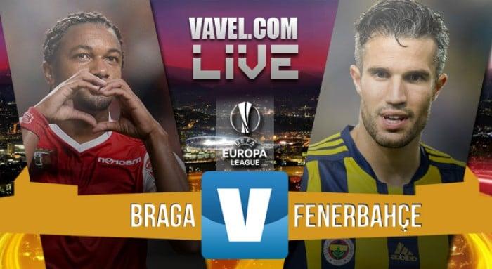 Resultado Braga x Fenerbahçe na Uefa Europa League 2015/16 (4-1)