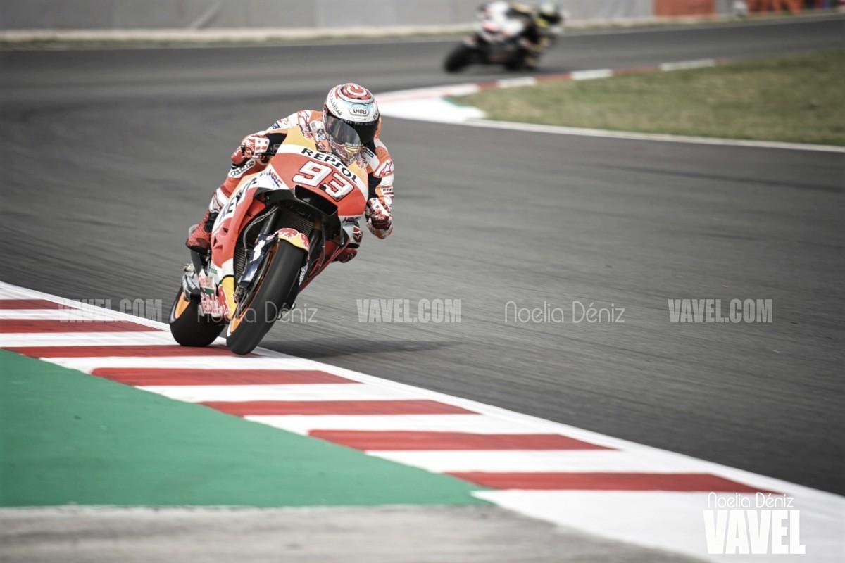 Moto Gp, Repubblica Ceca - Marquez spettacolare: lo spagnolo si impone davanti a Dovizioso e Miller