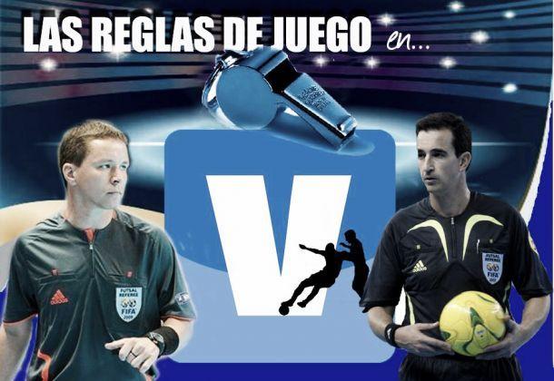 Reglas de juego de fútbol sala: lección 4