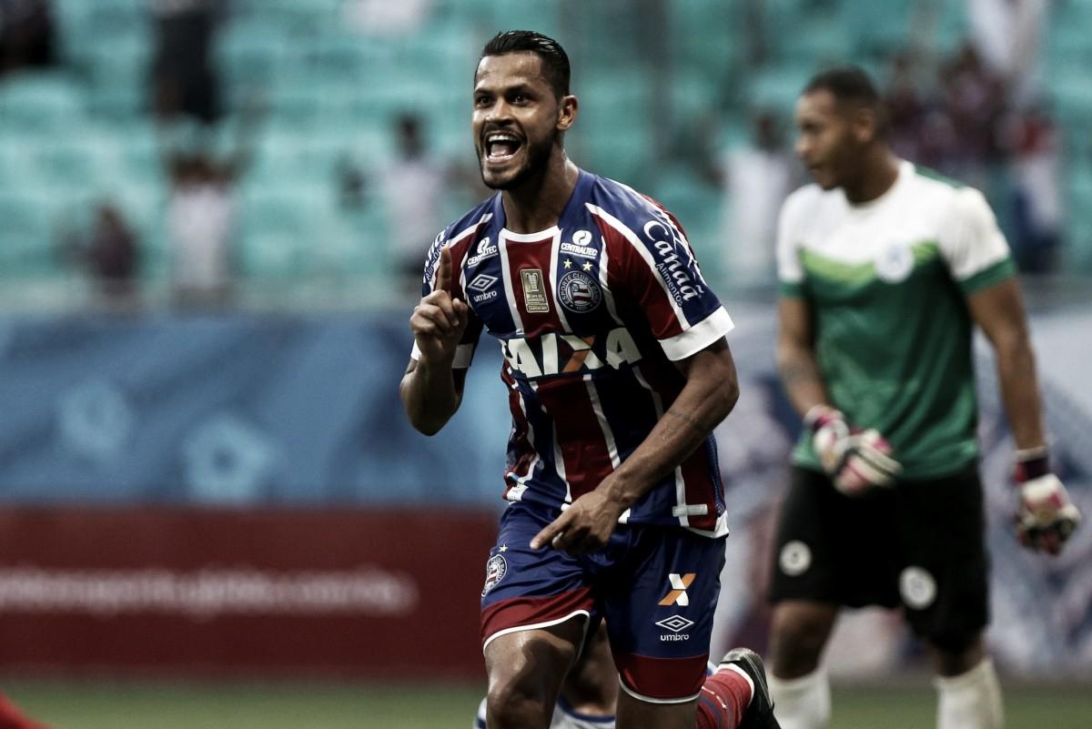 Bahia vence Atlântico no último minuto e mantém sequência positiva na temporada