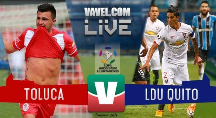 Toluca califica tras vencer a la Liga de Quito en la Libertadores