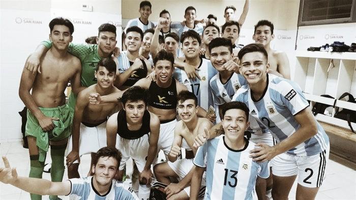Argentina se clasificó a la semifinal del Sudamericano Sub 15