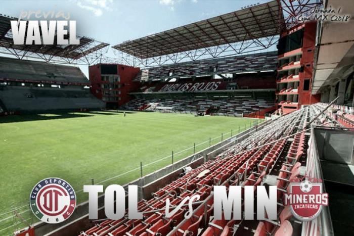 Copa MX en vivo: Toluca vs Mineros de Zacatecas, Clausura 2018